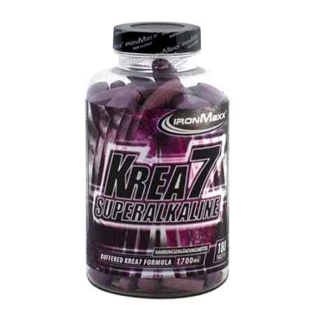 IronMaxx Krea7 Superalkalyne 180 Tabletten