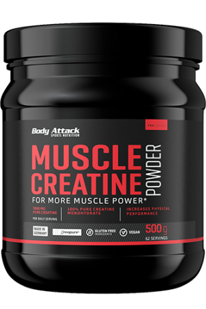 Body Attack Creapure Muscle Creatine, 500g