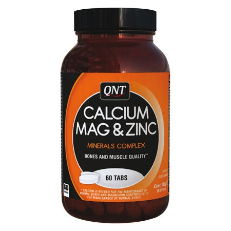 QNT Calcium Mag & Zinc 60 Tabletten