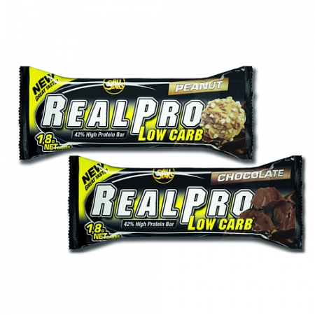 All-Stars RealPro Low-Carb Bar, 24 x 50g