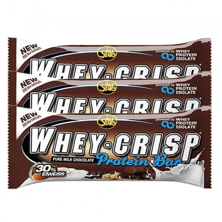 All Stars Whey-Crisp Bar, 24 x 50g