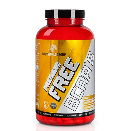 Body World Group Elite Line Premium Free BCAA's, 400 Tbl.