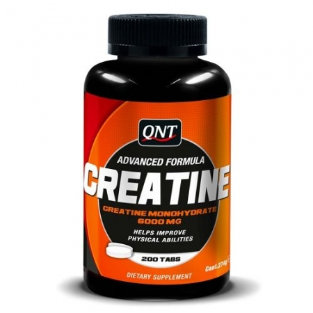 QNT Creatine Monohydrate - 200 Tabletten