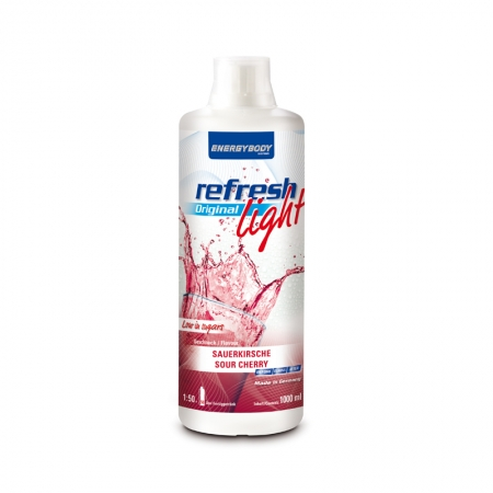 Energybody Refresh Light Mineral, 1l Flasche