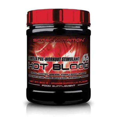 Scitec Nutrition Hot Blood 3.0, 300g