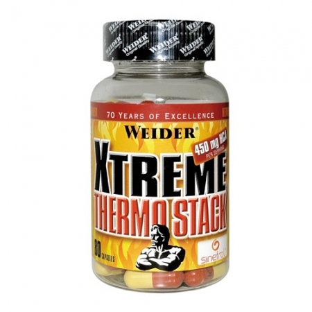Weider Xtreme Thermo Stack, 80 caps