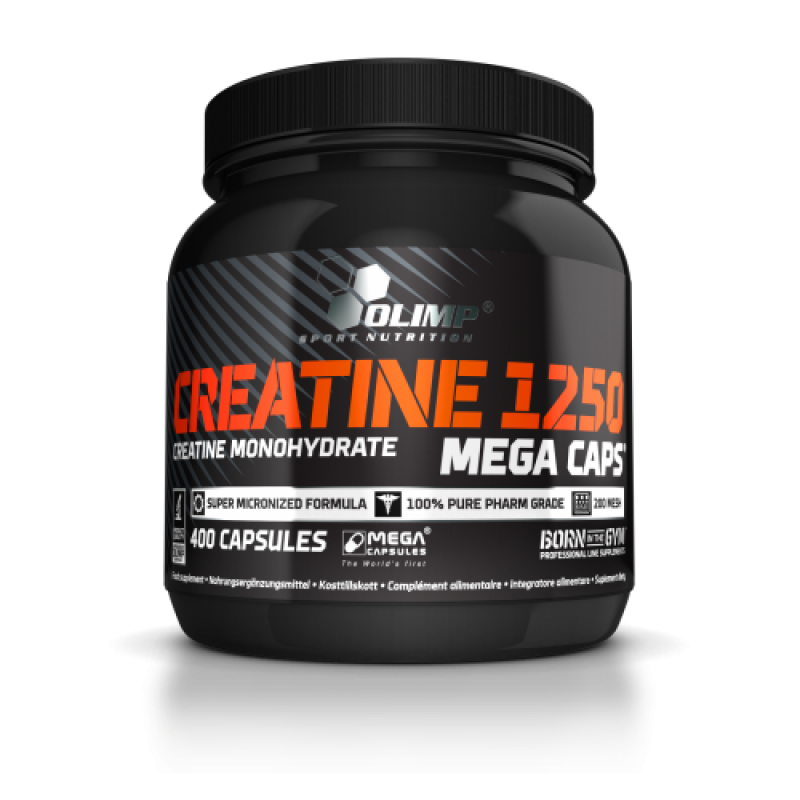 Olimp Creatine 1250 Mega Caps, 400 caps