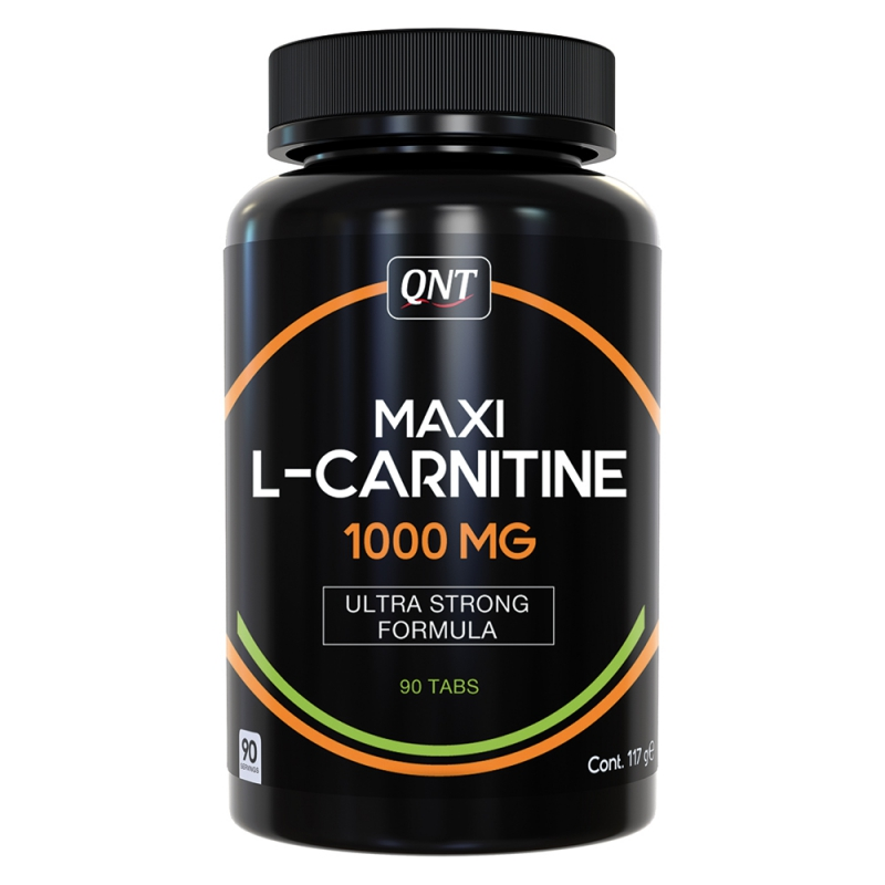 QNT Maxi L-Carnitine, 90 Tabletten