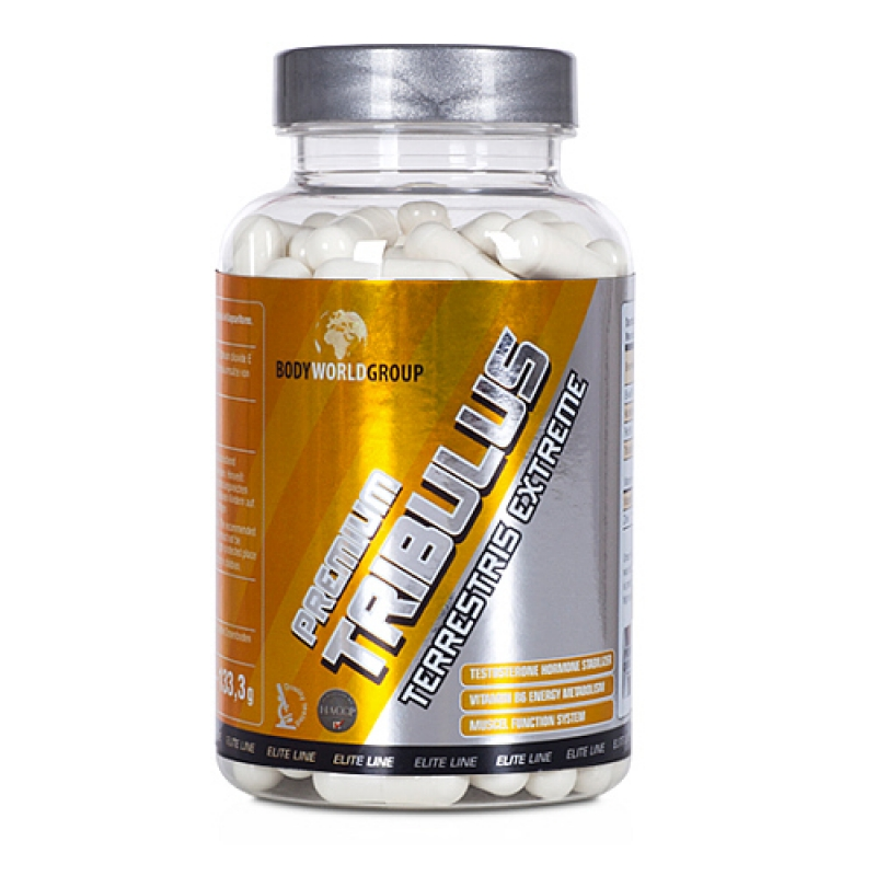 Body World Group Elite Line Tribulus Terrestris Extreme, 120 caps