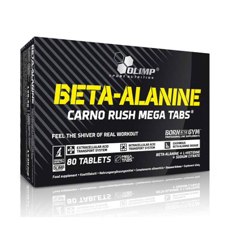 Olimp Beta-Alanine Carno Rush, 80 caps